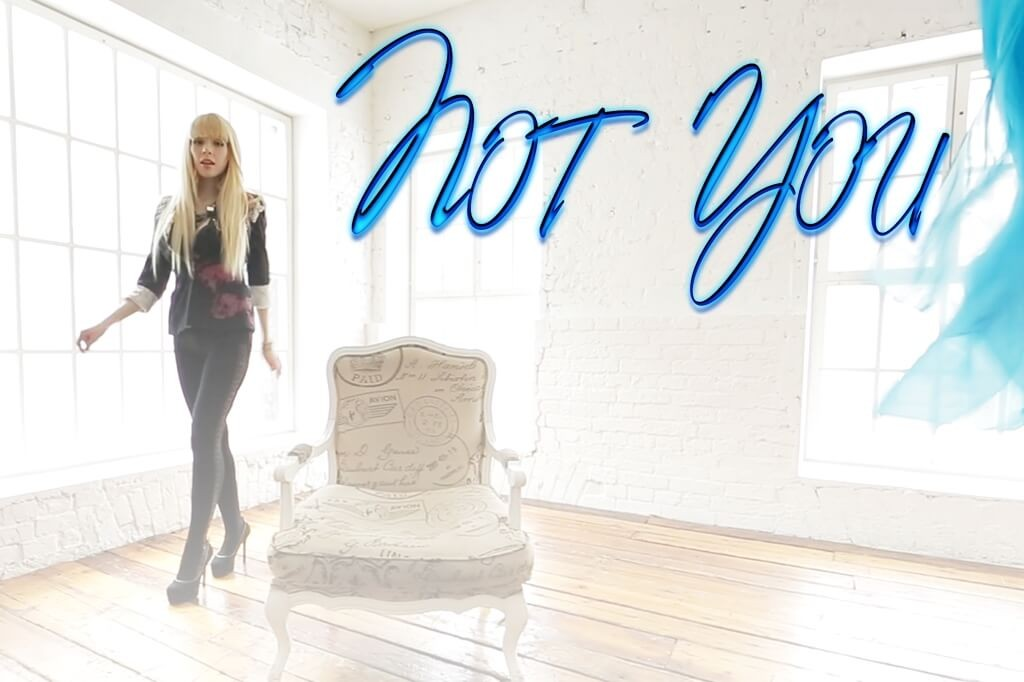 "Photos from music video ""Not You"""