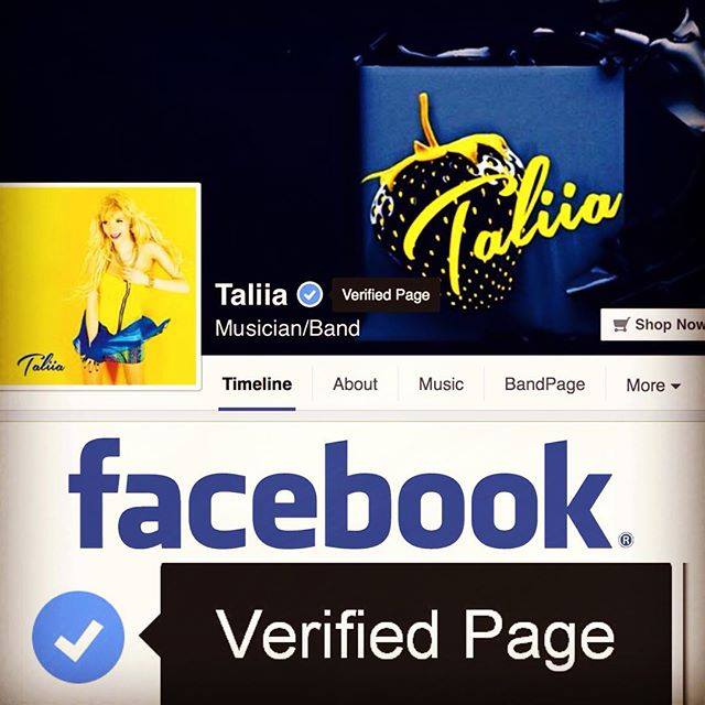 Taliia Facebook Page Officially Verified