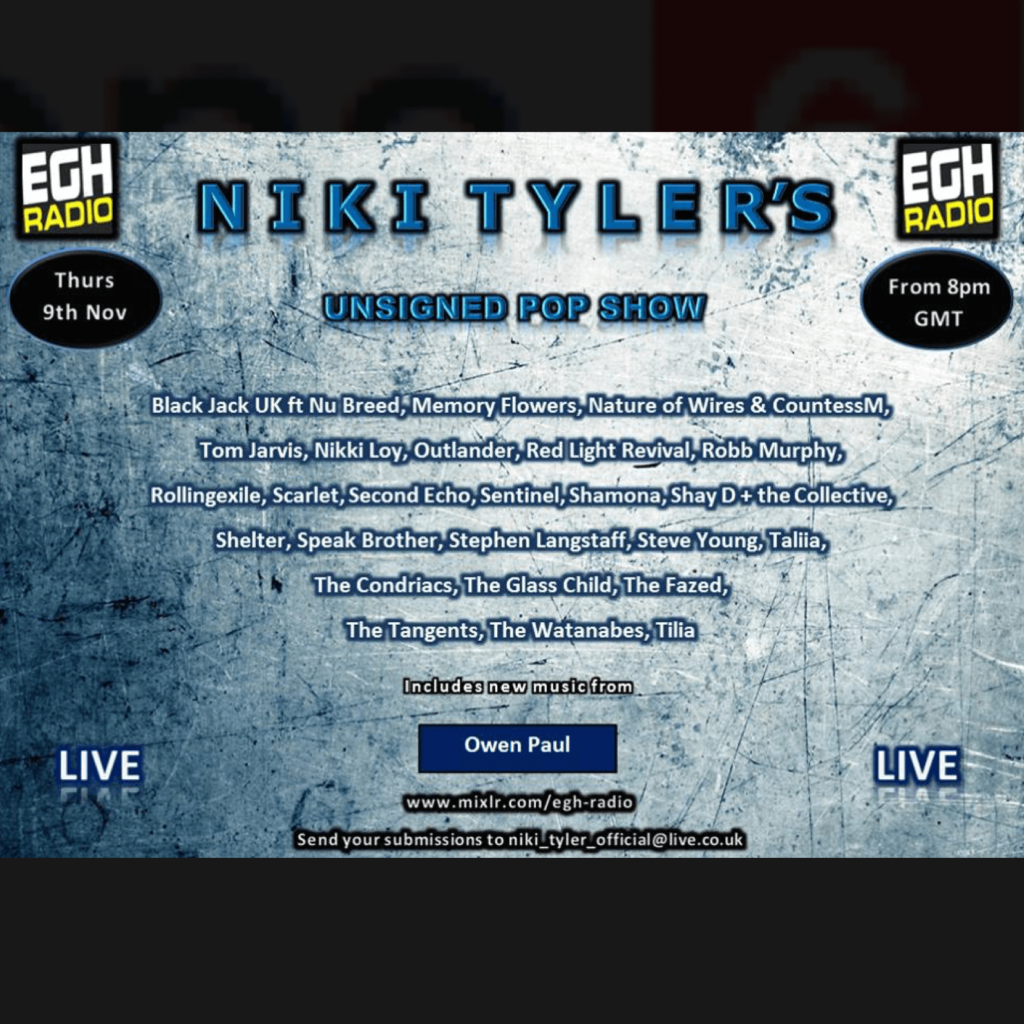Taliia @ Niki Tyler's Unsigned Pop Show on EGH Radio